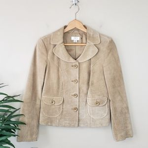 Ann Taylor LOFT | Petites Leather Jacket